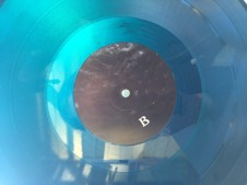 Firmament Vinyl Blue Black
